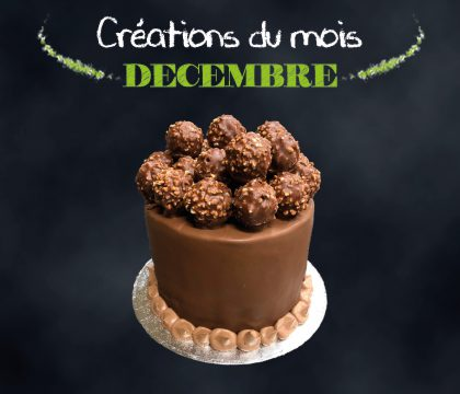 Gâteau Rochers