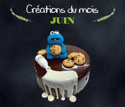 Modelage - bonhomme bleu et cookie
